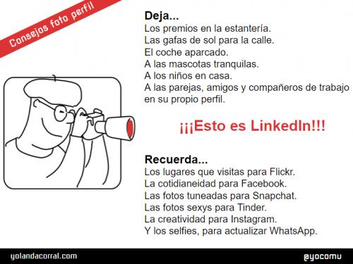 Consejos foto de perfil de LinkedIn