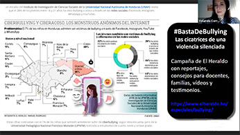Kit de seguridad digital para profesores, webinar Honduras